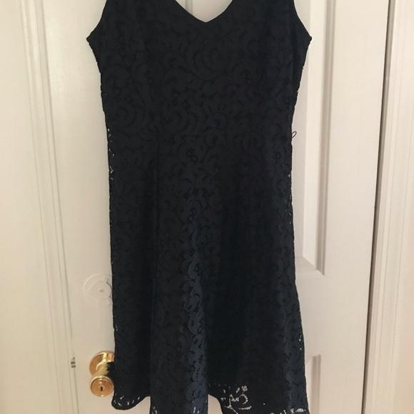 LOFT Dresses & Skirts - Loft black lace dress
